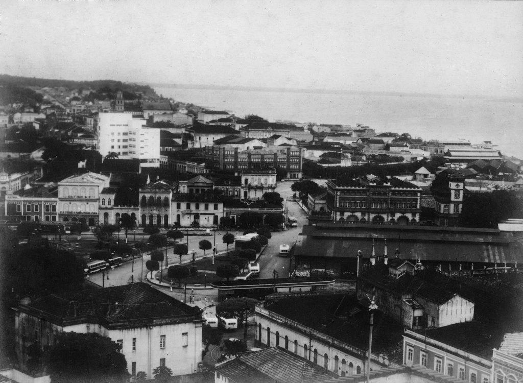 Vista do Jardim Ajuricaba de Menezes - Instituto Durango Duarte
