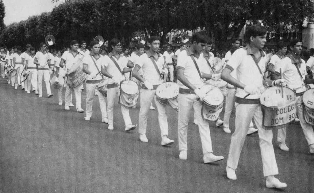 Desfile da fanfarra do Dom Bosco - Instituto Durango Duarte