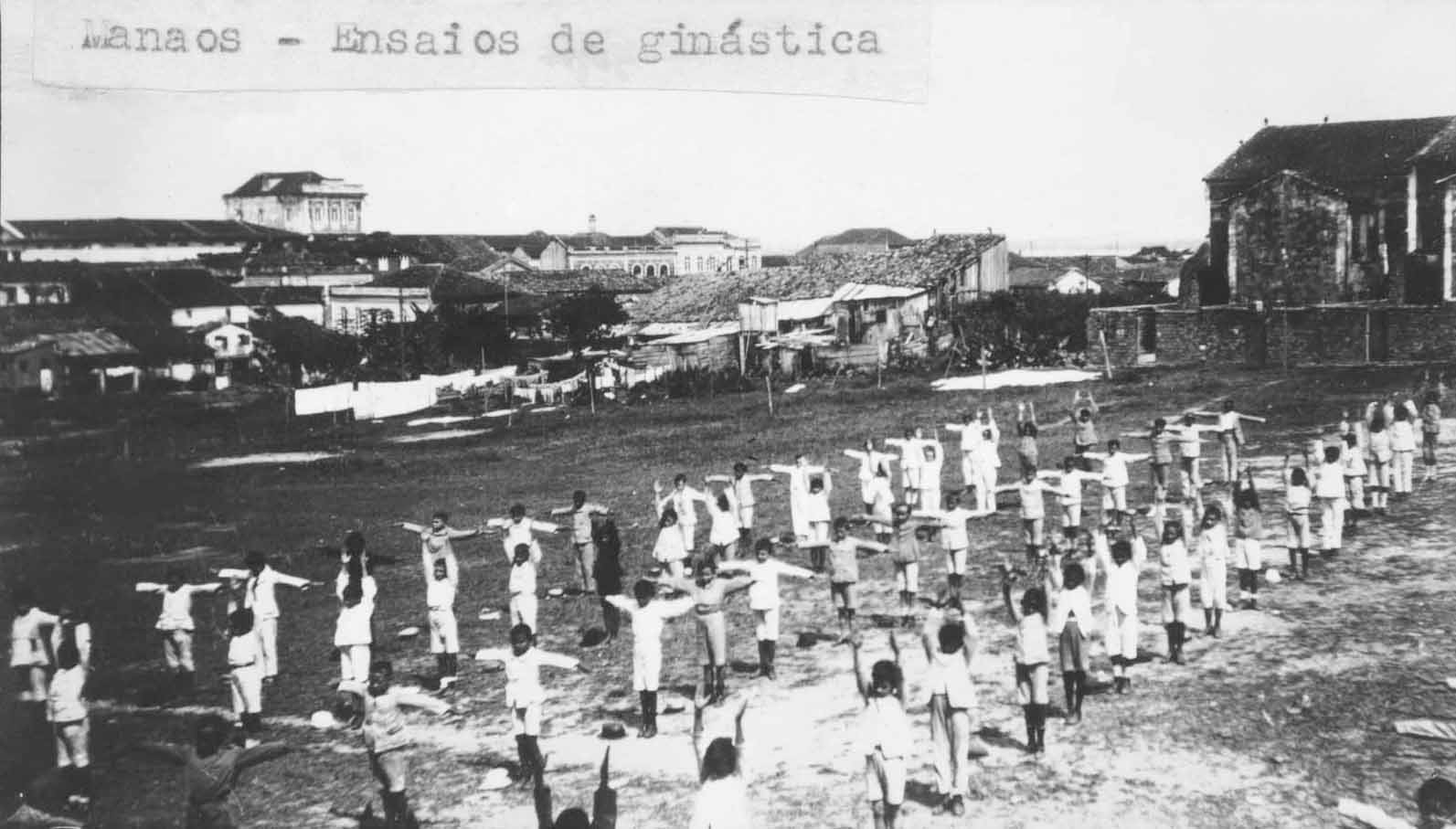 Aula de ginástica do Dom Bosco - Instituto Durango Duarte