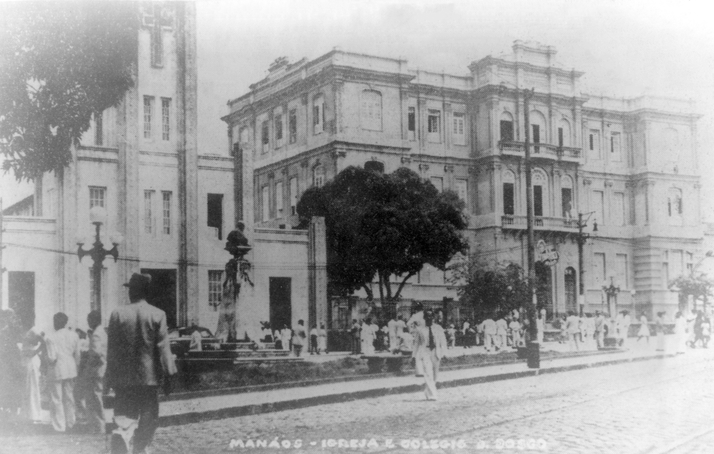 Fachada do Colégio Dom Bosco - Instituto Durango Duarte