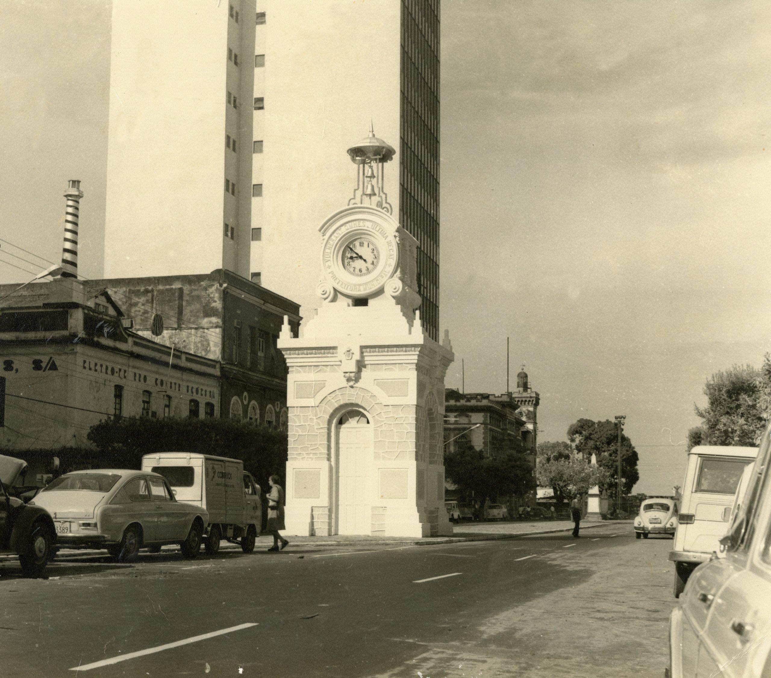 Relógio Municipal de Manaus - Instituto Durango Duarte