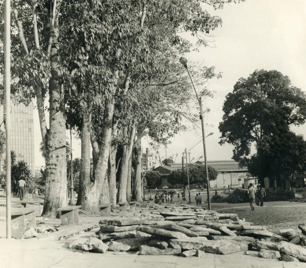 Praça da Matriz e o Porto de Manaus - Instituto Durango Duarte