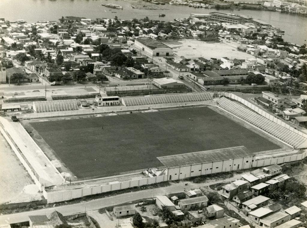 Vista aérea do Estádio da Colina - Instituto Durango Duarte