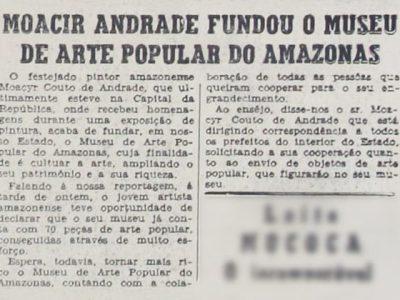 Fundação do Museu de Arte Popular do Amazonas