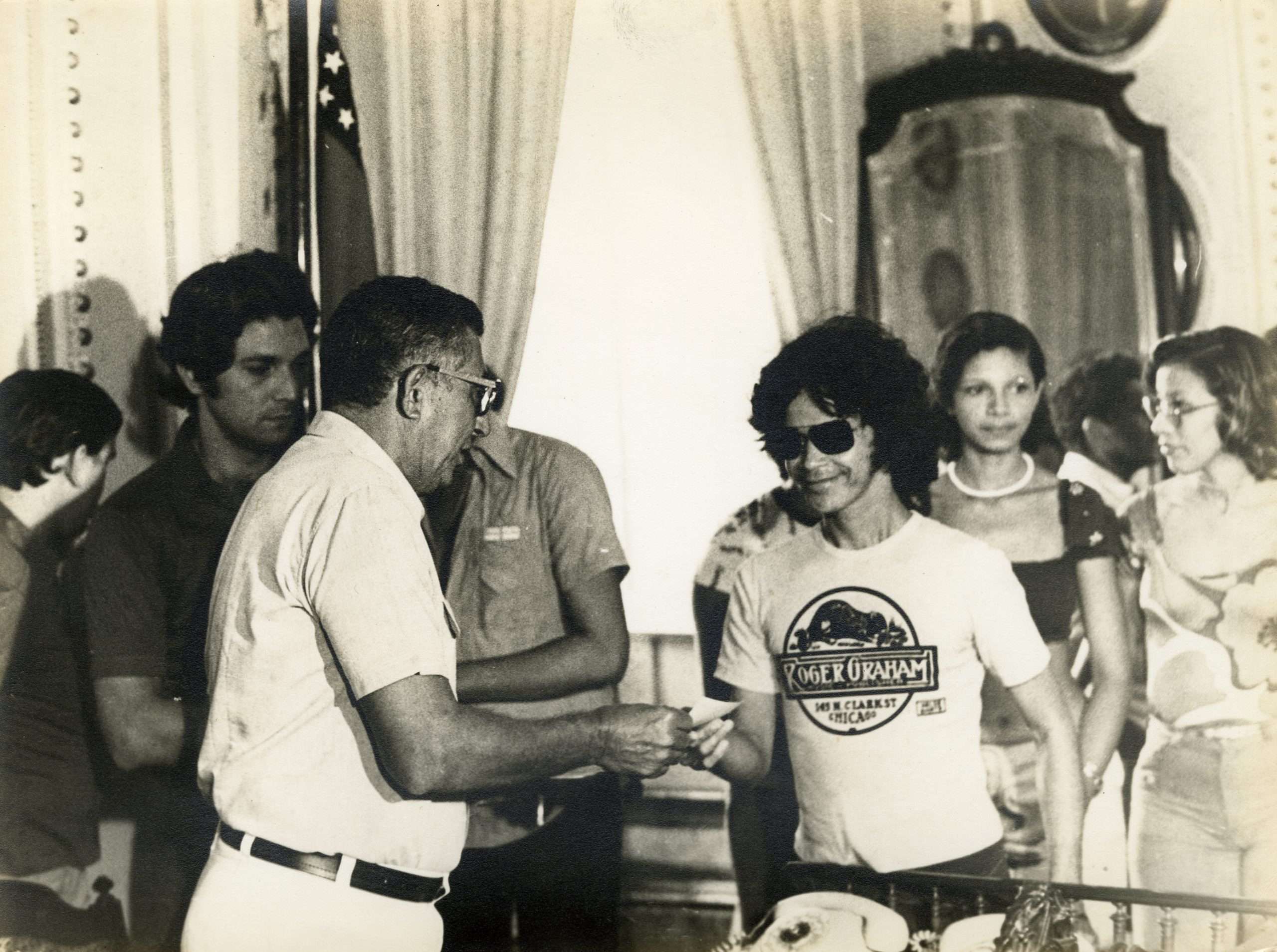 Premiação do carnaval de Manaus em 1977 - Instituto Durango Duarte