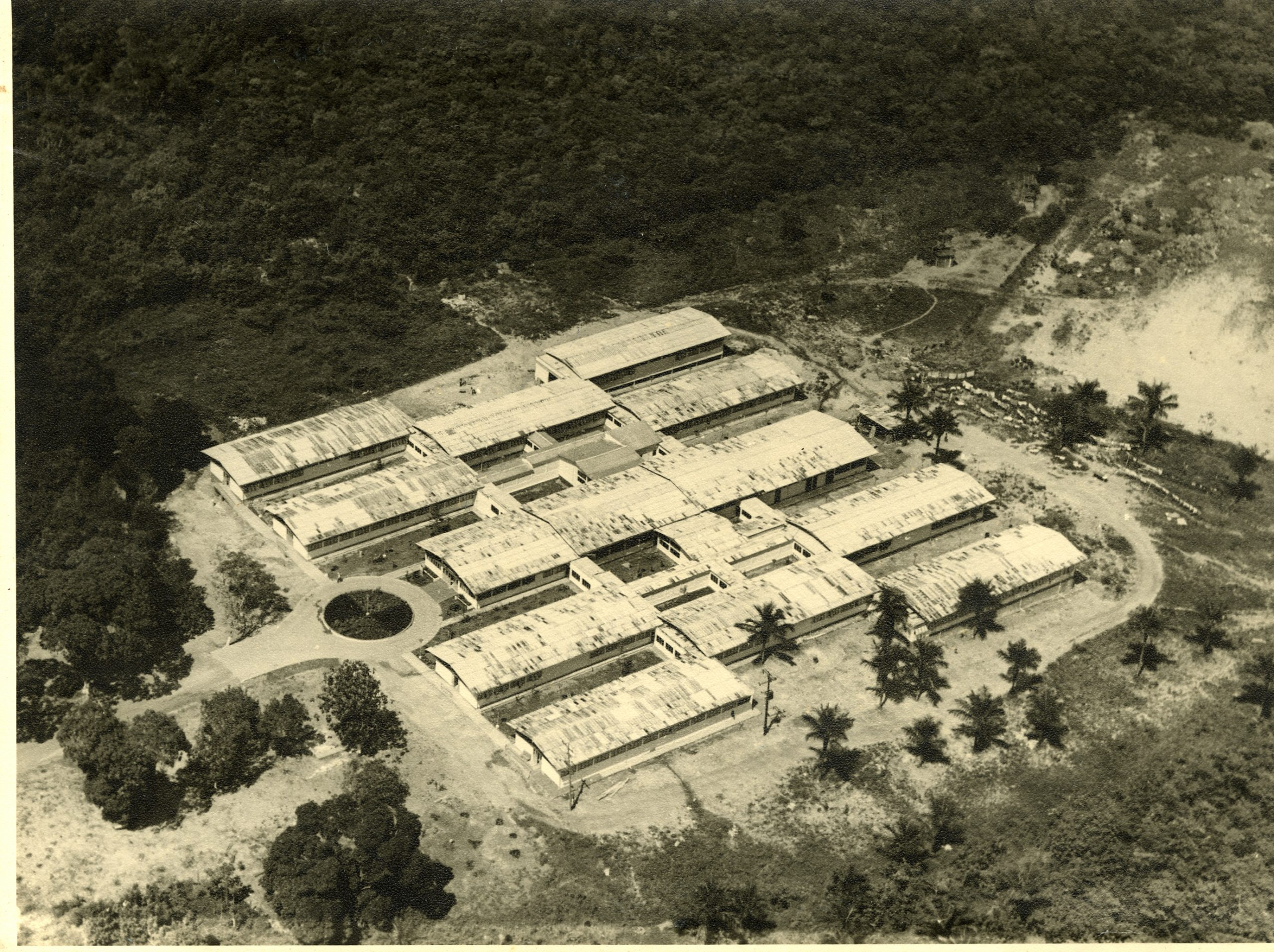 Foto aérea da Fundação Dr. Thomas - Instituto Durango Duarte