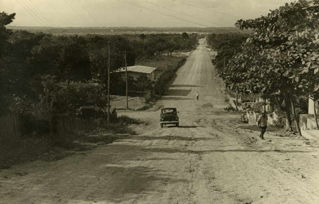 Avenida Paraíba sem a pavimentação - Instituto Durango Duarte