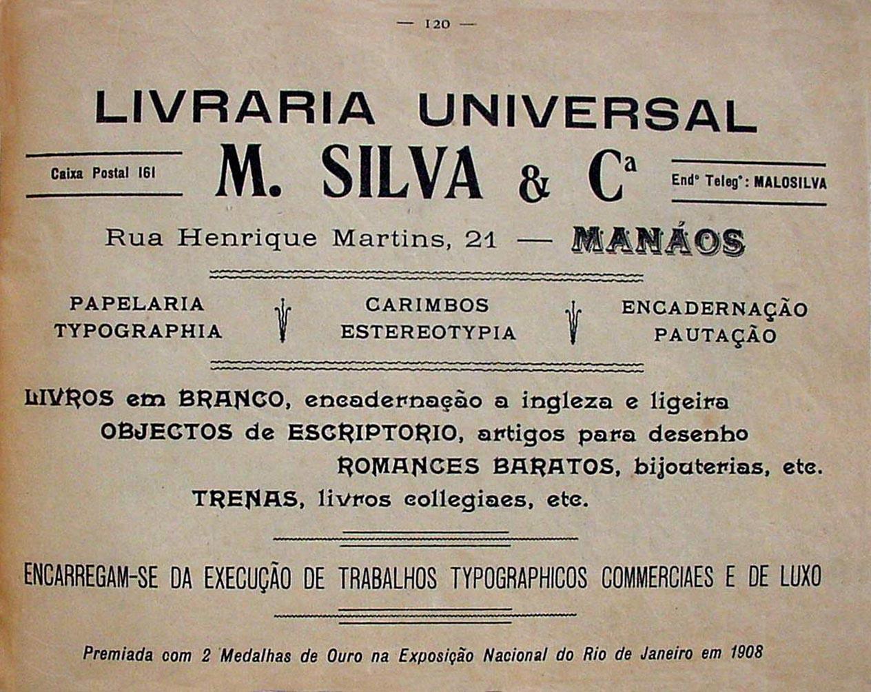 Propaganda da Livraria Universal