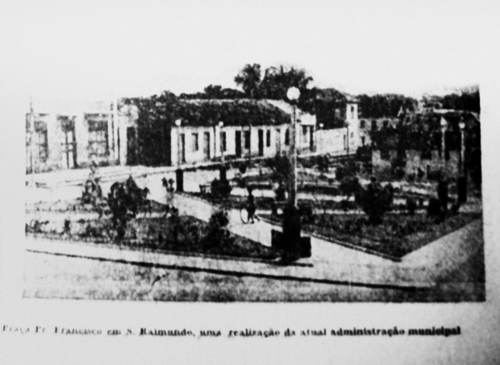 Praça Padre Francisco no Bairro de São Raimundo