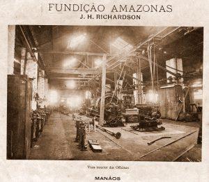 Interior da Oficina Naval Fundição Amazonas