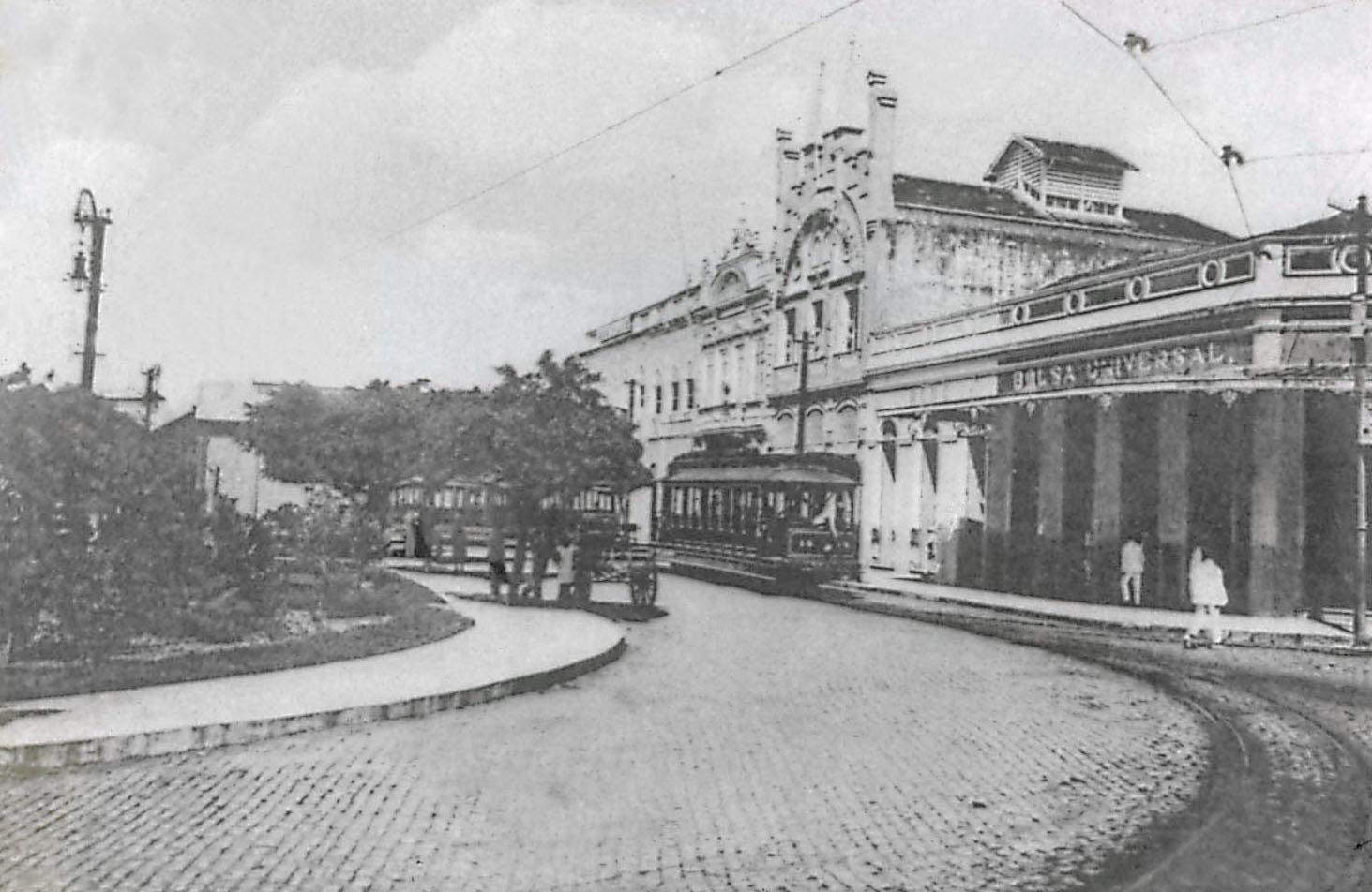 Antiga Estação dos Bondes - Instituto Durango Duarte