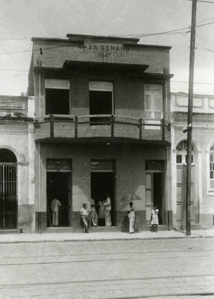 Prédio da Casa Genaro 1947 - Instituto Durango Duarte