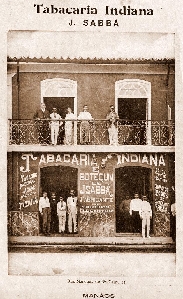Fachada da Tabacaria Indiana