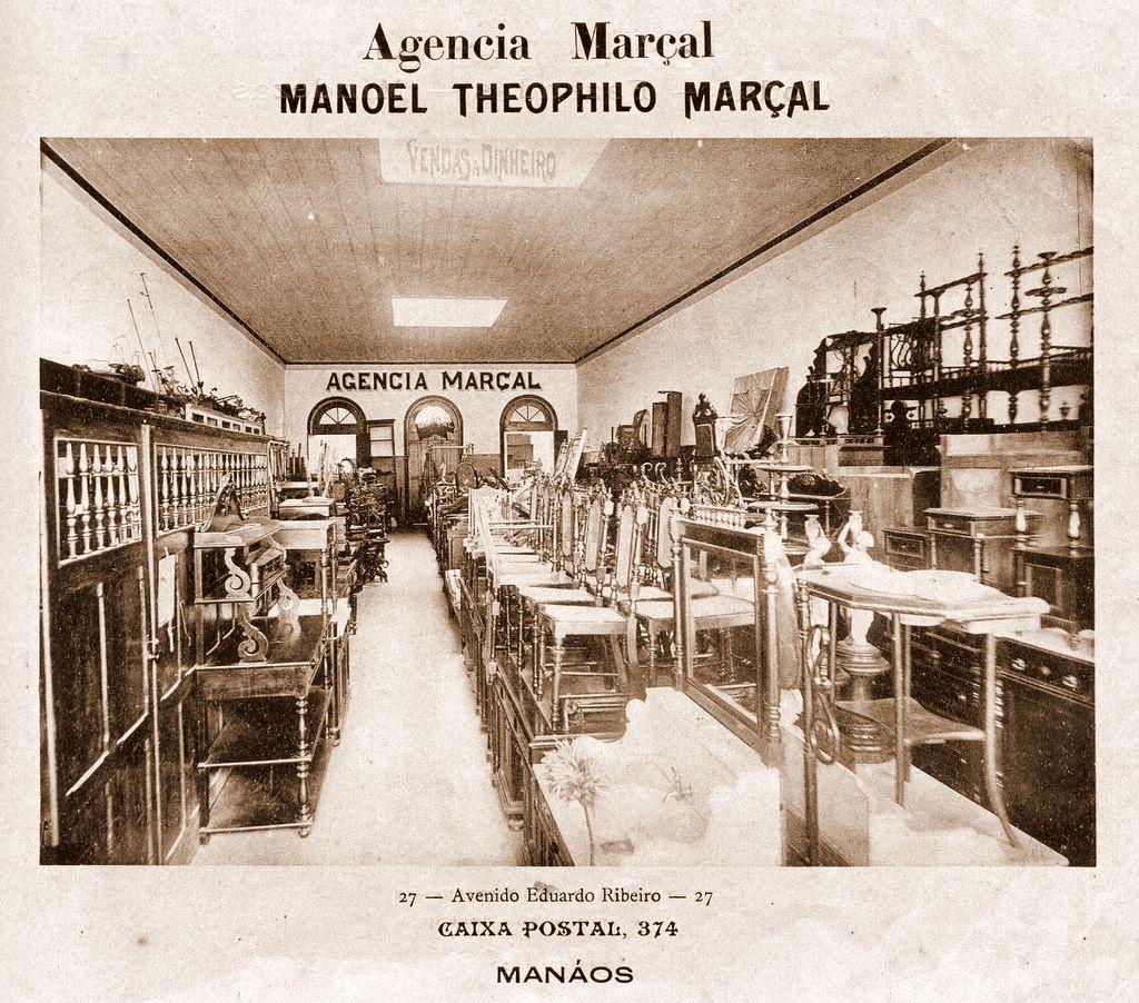 Interior da Agencia Marçal