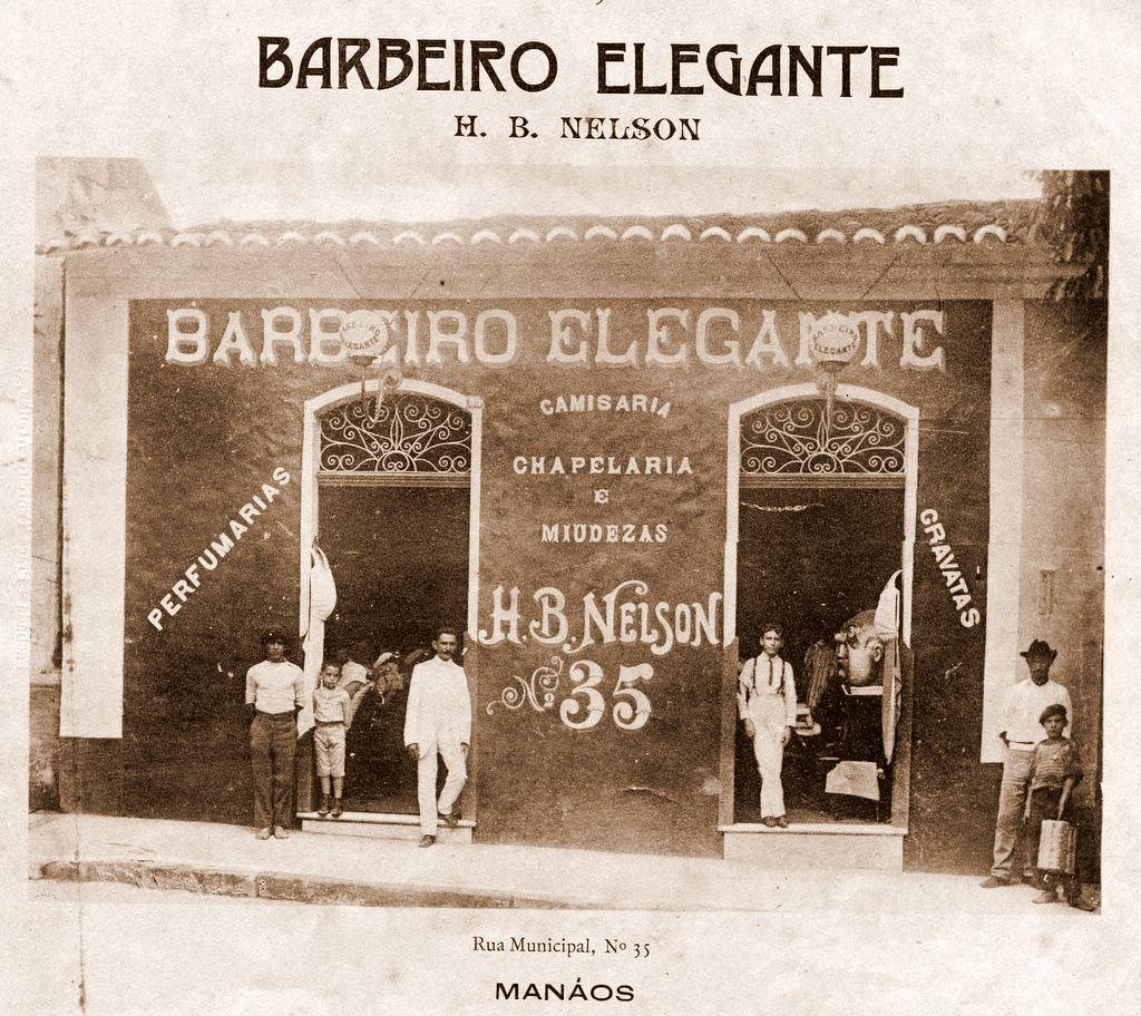 Fachada da Loja Barbeiro Elegante