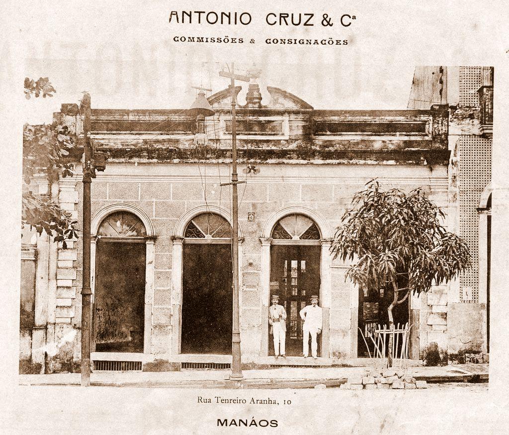 Fachada da Empresa Antônio Cruz & Cia - Instituto Durango Duarte