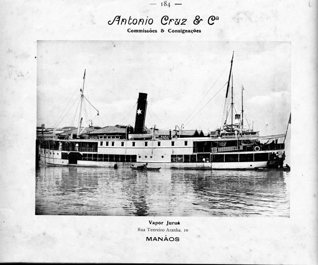 Embarcação da Empresa Antônio Cruz & Cia