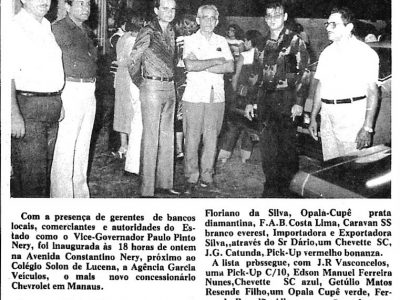 Agência Garcia veículos em Manaus
