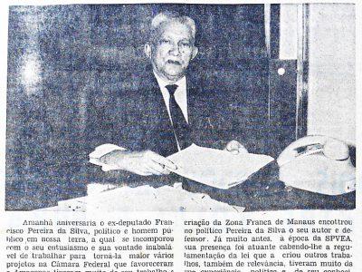 Aniversário de Pereira da Silva
