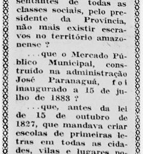 Tenreiro Aranha foi o 1º Presidente da Província do Amazonas
