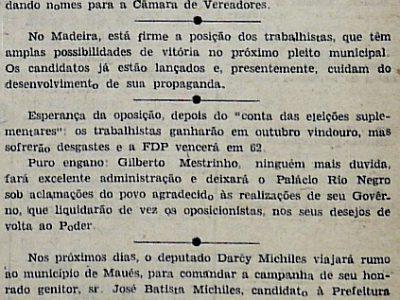 Prefeito Loris Cordovil não Disputará as Eleições