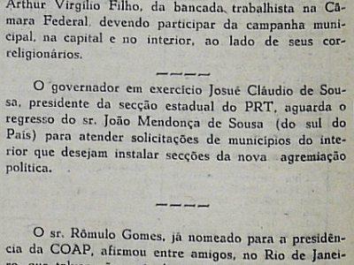 Arthur Virgílio Filho Vem Para Participar de Campanha Municipal