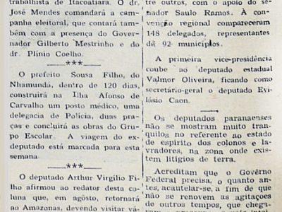 Solidariedade do PTB ao Candidato Ferreira Lins