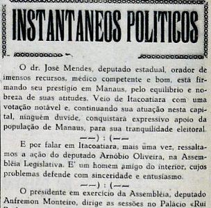 Dr. José Mendes conquistará apoio em Manaus
