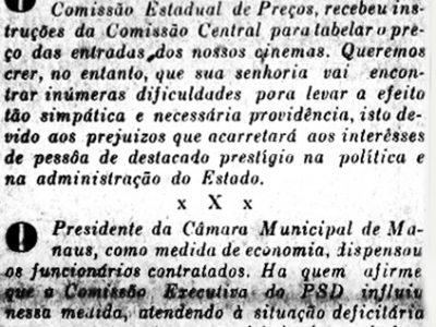 Governador de São Paulo Ademar de Barros