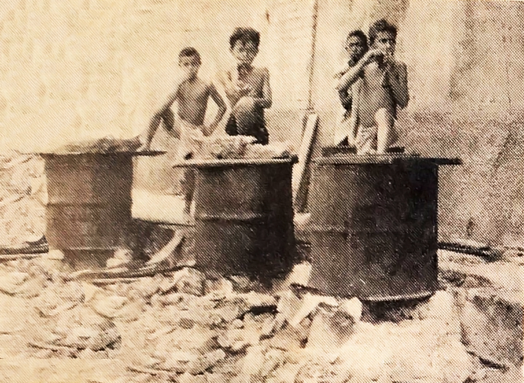 As crianças que frequentam o Matadouro