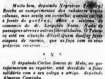 Deputado Negreiros Ferreira