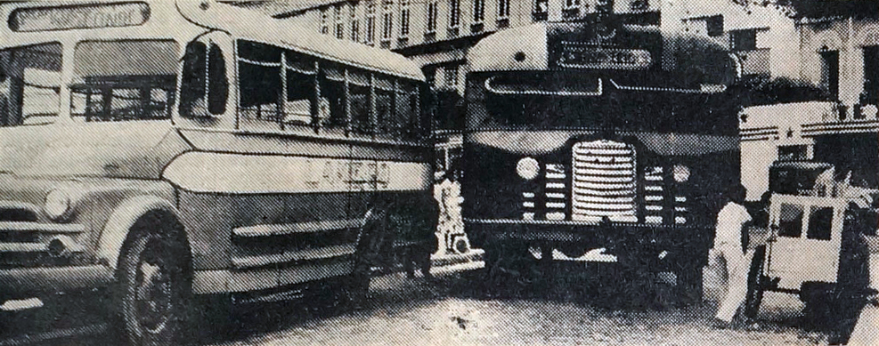 Os antigos ônibus cara chata