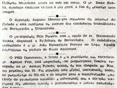 Arlindo Porto Vai a Urucurituba Ajudar Seus Correligionários