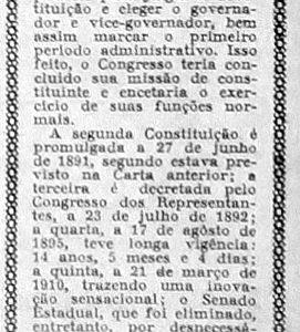 Primeira Constituição Política do Estado do Amazonas