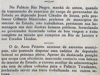 Prefeitos prestam homenagem no Palácio Rio Negro