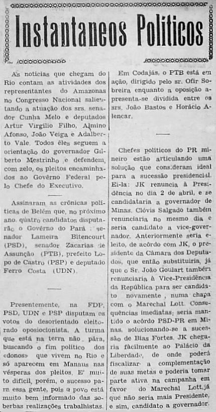 Enfática Atuação dos Representantes do Amazonas no Congresso