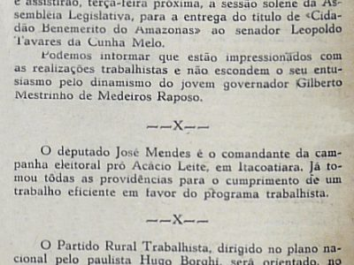 Senadores Vem a Sessão Solene ao Senador Cunha Melo