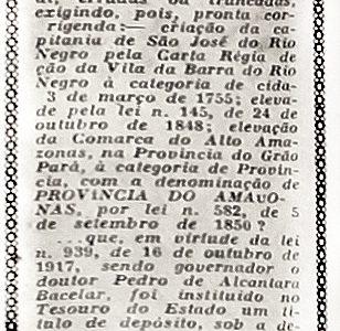O Primeiro Governador do Amazonas: Augusto Ximeno de Vileroy