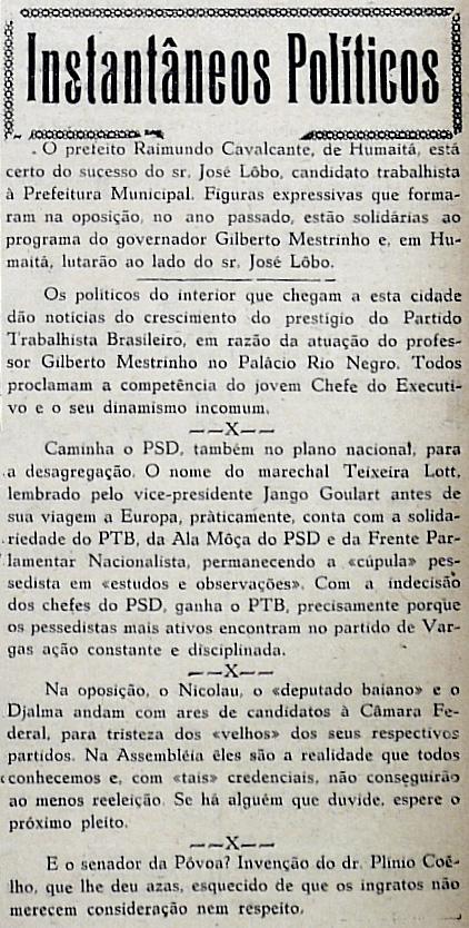 Prefeito de Humaitá está Certo da Vitória de José Lôbo