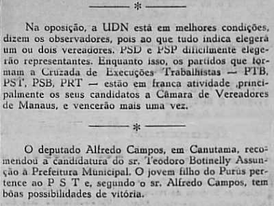 Flagrante Inconstitucionalidade: 10 Mil Cruzeiros a Deputados