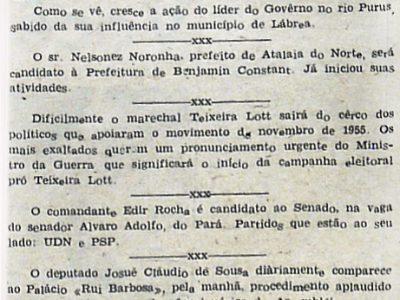 Prefeito de Atalaia do Norte será Candidato em Benjamin Constant