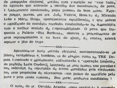 Gilberto Mestrinho Cumpre Amplo Programa de Trabalho