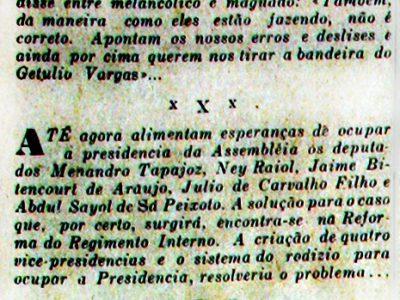 Menandro Tapajoz deixa o Governo