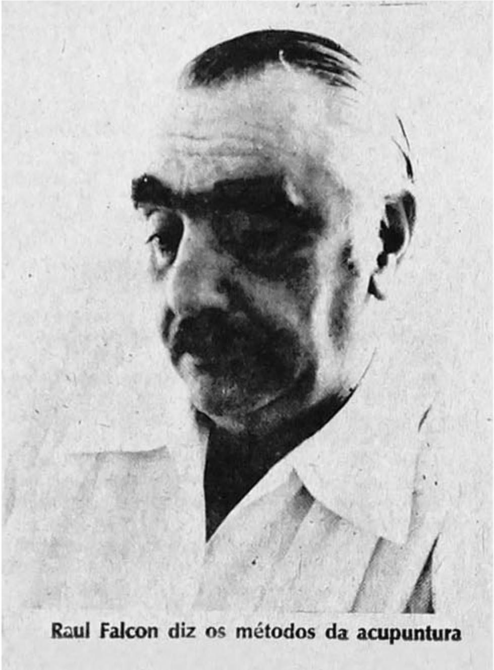Dr. Raul Falcon, médico boliviano