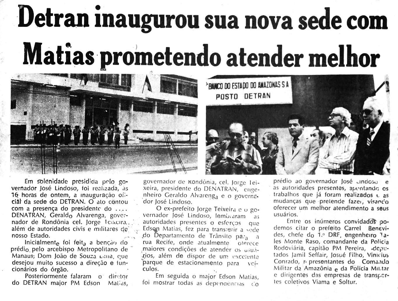 Inaugurada nova sede do Detran