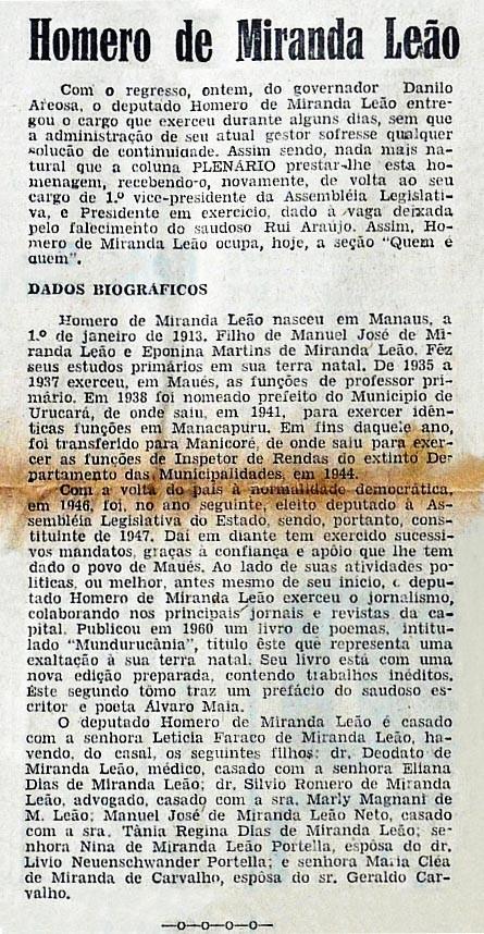 Homero de Miranda Leão