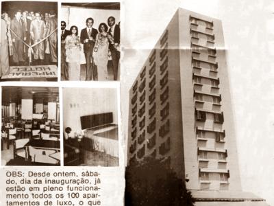 Inauguração do Imperial Hotel
