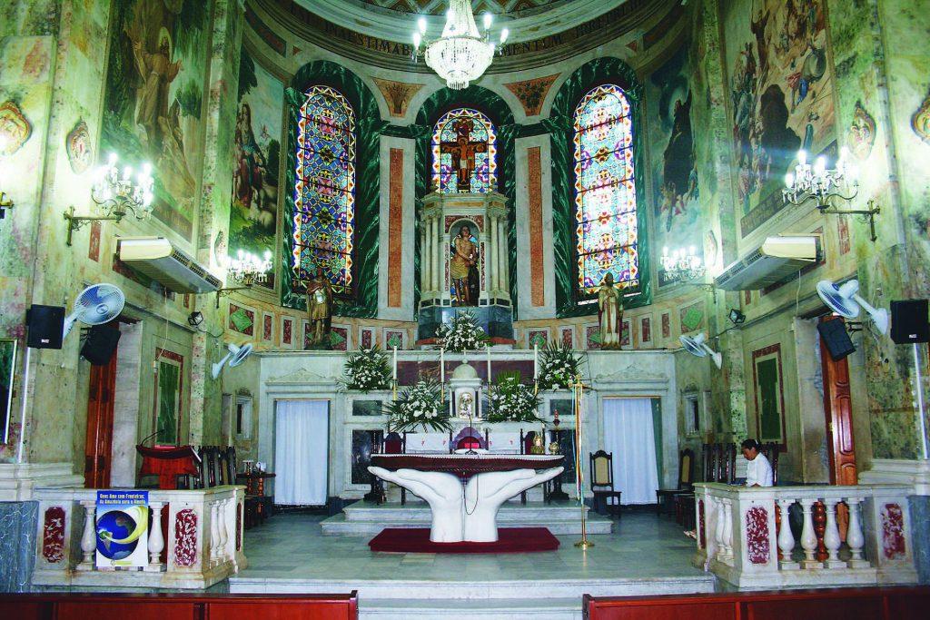 Altar Mor da Igreja de São Sebastião