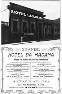Durango Duarte - Anúncio do Hotel da Madama