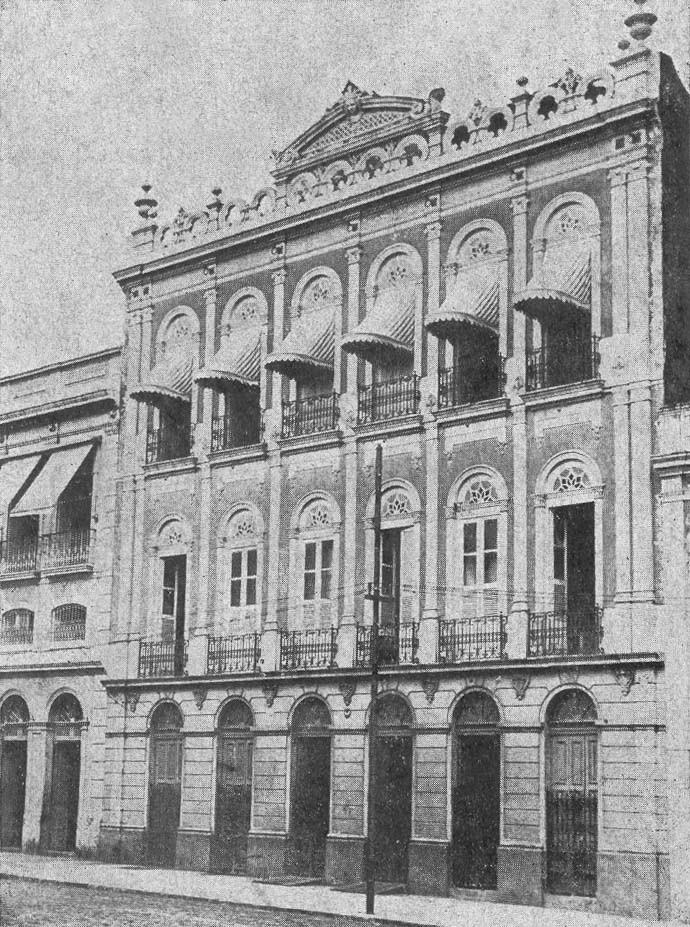 Antiga sede da Associação Comercial do Amazonas (ACA) - IDD 1934
